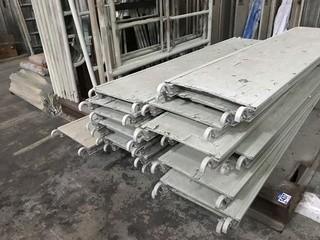 Quantity of Sturdy Scaffold c/w Forklift Rack.
