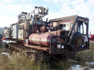 Unit 235: 1980 Foremost Nodwell Model 110 Track Engine. Showing 3876hrs. SN 80-1052 **LOCATED IN CARBON**