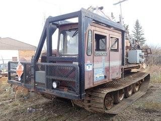 Unit 238: 1980 Foremost Nodwell Model 110 Track Engine. Showing 9,816Hrs. SN 80-1084 **LOCATED IN CARBON**
