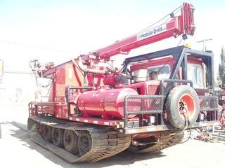 Unit 256: 1981 Foremost Model 110 Nodwell Track 303D Carrier w/B54 Auger Drill B61. Showing 9,553Hrs. **LOCATED IN CARBON**