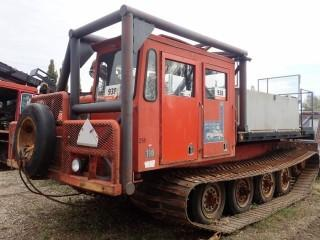 Unit 258: 1981 Foremost Model 110 Nodwell Track Engine Water Tank. Showing 6,628Hrs. SN 811286. **LOCATED IN CARBON**