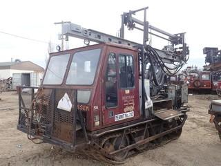 Unit 536: 1999 Gyro Trac Model MESSEK Carrier w/ BDC Air/Water Drill;  Showing 6,200Hrs *NOTE REQUIRES REPAIR ENGINE NOT STARTING* **LOCATED IN CARBON**