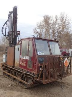 Unit 537: 1999 Gyro Trac Model MESSEK Carrier W/ BDC Air/Water Drill Engine. Showing 1,218Hrs. **LOCATED IN CARBON**