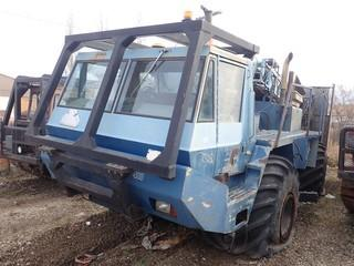 Unit 593: 1997 Model Terradrill 400 Terra Buggy. Showing 7,181Hrs ** REQUIRES REPAIR ENGINE NOT STARTING** **LOCATED IN CARBON**