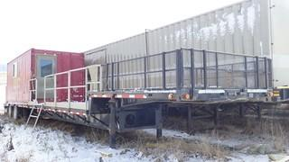 Unit 650: 1999 Lode King Trailer approximately 53-ft long mounted on tandem axles. **LOCATED IN CARBON**