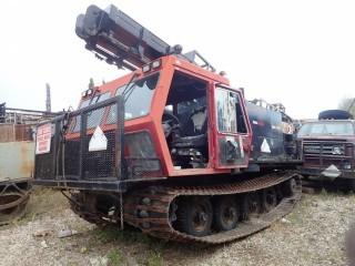 Unit 686: 2006 Camoplast Model GT1600 L.I.S. Tracked Carrier Drill. Showing 7,584Hrs. SN 906160632 **LOCATED IN CARBON**