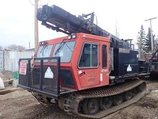 Unit 687: 2006 Camoplast Model GT1600 L.I.S. Tracked Carrier Drill.  **LOCATED IN CARBON**