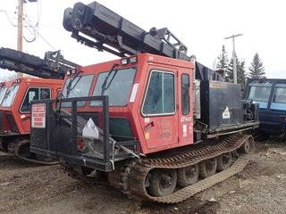 Unit 688: 2006 Camoplast Model GT1600 L.I.S. Tracked Carrier Drill. Showing 7,349Hrs **LOCATED IN CARBON**
