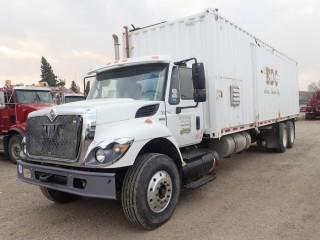 Unit 762: 2009 International Model 7500 SBA 6X4 Single-Steer Tandem-Drive Rear Axle Steam truck. Showing 16,825kms. VIN 1HTWNAZR69J139157 **LOCATED IN CARBON**