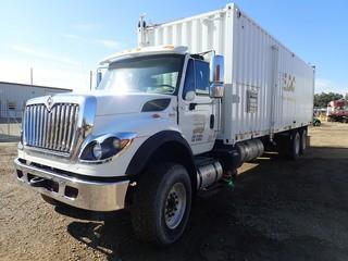 Unit 763: 2011 International Work Star 7500 Single-Steer Tandem-Drive Rear Axle Steam Truck.  CVIP 12/2019. Showing 15,841kms. VIN 1HTWNAZT9BJ394662 **LOCATED IN CARBON**