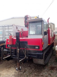 Unit 778: 2008 IHI Model IC45-2 Track Carrier w/2008  Mobile B48 Auger Drill  SN CE000786 **LOCATED IN CARBON**