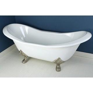 """Cordova Sandstone 72"""" x 30"""" Freestanding Soaking Bathtub"""