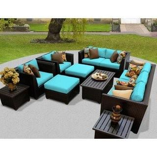 Camak 12 Piece Sofa Seating Group with Cushions