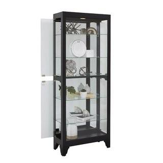 Flagg Lighted Curio Cabinet