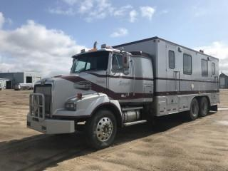 2006 Western Star T/A Data Van Body