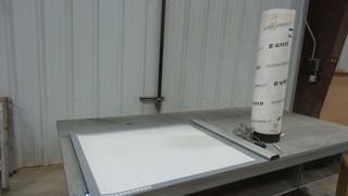 (1)GTCO  Roll Up Digitizing Tablet, Model 3036RVD, S/N 049436012