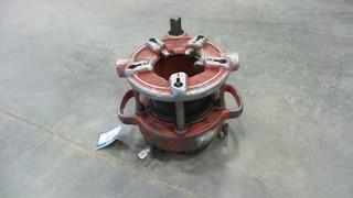 Ridgid 4 PA Threader 2 1/2 Inch to 4 Inch, (missing some thread dies) *Located RE13*
