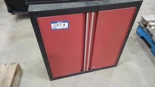 28 Inch x 28 Inch x 14 Inch Storage Cabinet