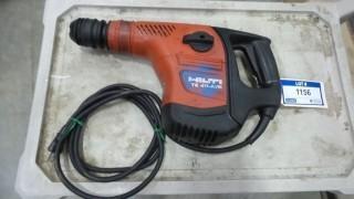 Hilti TE40-AVR Rotary Hammer, S/N 04-0050161-CM-10 *Located RE21*
