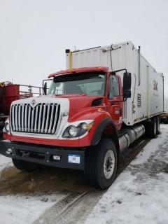 UNIT 785: 2013 International Work Star 7500 Single-Steer Tandem-Drive Rear Axle Core Steam Truck. CVIP 12/2019. VIN 1HTWNAZT0DJ381026