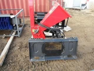 New and Unused Wood Chipper Skid Steer Attachment