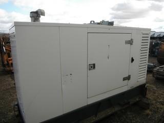 Aggreko 3 PH Generator, Machine ID A11G273551, S/N 0279302/003 c/w FPT Diesel Motor, 274 Cu. In. Model ID F4GE9455A*J, DOM 6/11