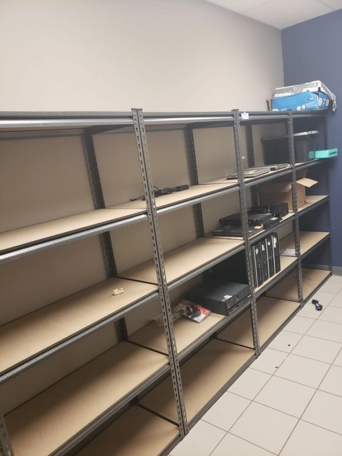 Shelving Unit *Note: Buyer Responsible For Load Out, Contents Not Included*