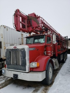 Unit 746: 2008 Atlas Copco TH60 DRILL Mounted On Peterbilt Model 367 Single Steer Tri-Drive Truck.  VIN 1NPTX4EX18D758707