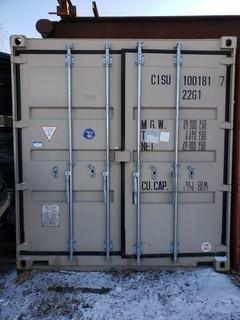 20ft Storage Container  *Note: Buyer Responsible For Load Out*