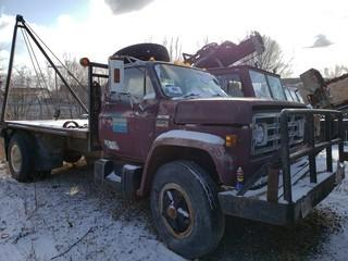 GMC C6500 S/A Truck C/w V-8 5-Speed. VIN TCE677V569539