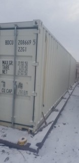 20ft Storage Container C/w Contents *Note: Buyer Responsible For Load Out*
