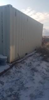 20ft Storage Container C/w Contents And 40ft Rig Mat *Note: Buyer Responsible For Load Out*