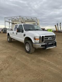 2008 Ford F-350 4X4 Crew Cab Pick Up c/w 6.4L Diesel Power Stroke. Showing 101,537 KMS. VIN # 1FTWW31R08EA27575 *NOTE: True Mileage Unknown*