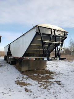 2018 Lode King GTL (Lead) 28 Feet, S/N 2LDHG2830VF064248, Tridem Axle, (Pup) 30 Feet, S/N 2LDHG3021VF064249, T/A, c/w Alum Wheels, Air Ride,Tires 11R24.5, 75 per cent,  Steel Sides, Alum Slopes, Air Scale, Open Ended