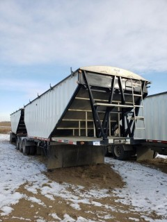 2018 Lode King GTL (Lead) 28 Feet, S/N 2LDHG2838VF064742, Tridem Axle, (Pup) 30 Feet, S/N 2LDHG3029VF064743, T/A, c/w Alum Wheels, Air Ride,Tires 11R24.5, 75 per cent,  Steel Sides, Alum Slopes, Air Scale, Open Ended
