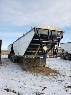 2015 Lode King GTL (Lead) 28 Feet, S/N 2LDHG2831FF0059146, Tridem Axle, (Pup) 30 Feet, S/N 2LDHG3022FF0594147, T/A, c/w Alum Wheels, Air Ride,Tires 11R24.5, 70 per cent,  Steel Sides, Alum Slopes, Air Scale, Open Ended
