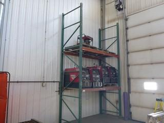 2-Shelf Metal Pallet Racking *Note: Contents Not Included*