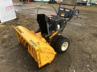 Cub Cadet SW13545L 45in 2 stage Snowblower c/w Posi-Steer Power Steering, 420cc gasoline engine, electric 120v start, Dual Drive Wheels s/n1l081Z40018