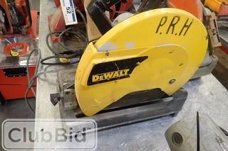 DeWalt DW870 Chop Saw.