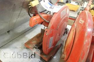"Milwaukee 14"" Cut-Off Saw."