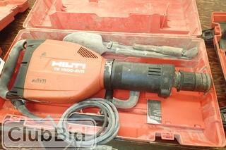Hilti TE 1500-AVR Hammer Drill.