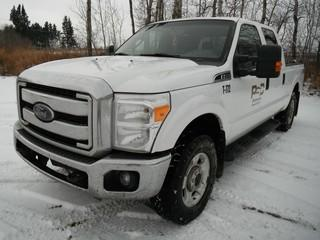 2015 Ford F-250, Showing 136,894 KMS. VIN # 1FT7W2B62FFB17441