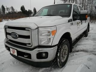 2015 Ford F-250, Showing 191,700 KMS. VIN # 1FT7W2B67EEB71283