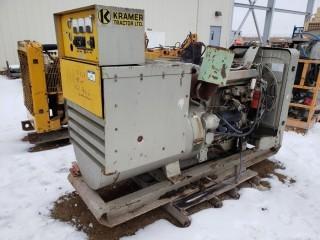Kramer Tractor Ltd. 105 KVA Generator, Engine Model 3304, SN 4B 7910 *Full Rebuild, No Hours*