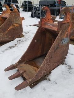WBM Track Hoe Tooth Bucket Model 24IN .5YD