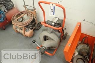 Ridgid Kollmann K-380 Sink/Drain Cleaning Machine.
