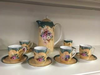 14pc Porcelain Tea Set.