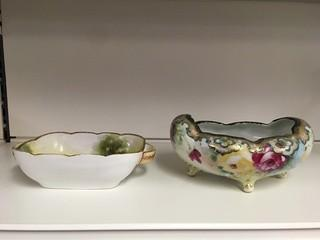 Lot of (2) Porcelain Bowls.