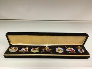 1984 Olympic Pin Set.