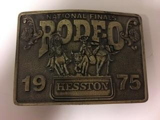 NFR 1975 Belt Buckle.